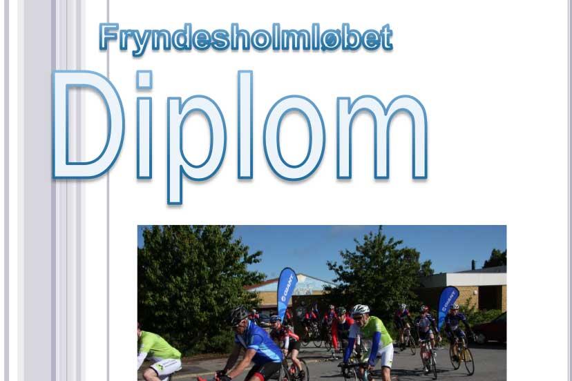 Fryndesholmløbet 2019: Resultatlister & Diplom